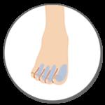Sパーツ 足の指