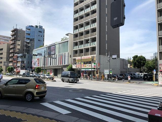 メンズ脱毛フィーゴ新宿店の行き方 東新宿駅から3