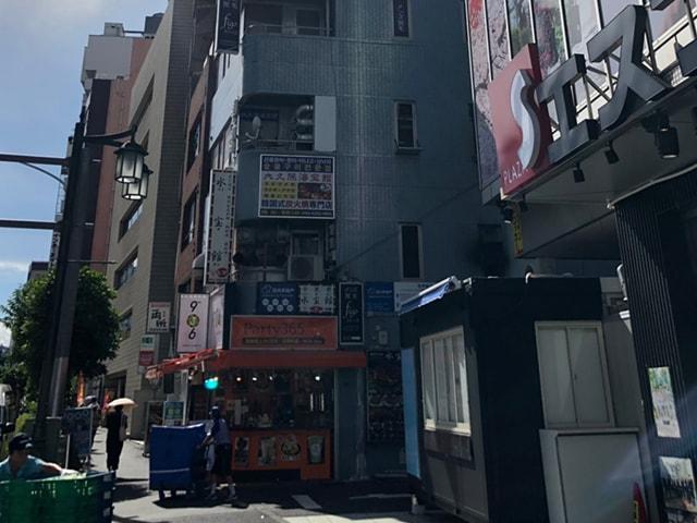 メンズ脱毛フィーゴ新宿店の行き方 東新宿駅から4