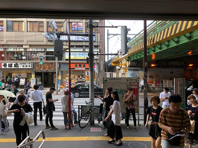 メンズ脱毛フィーゴ新宿店の行き方 新大久保駅からの行き方2