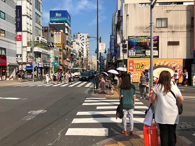 メンズ脱毛フィーゴ新宿店の行き方 新大久保駅からの行き方3