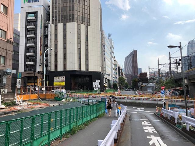 メンズ脱毛フィーゴ新宿店の行き方 新大久保駅からの行き方4