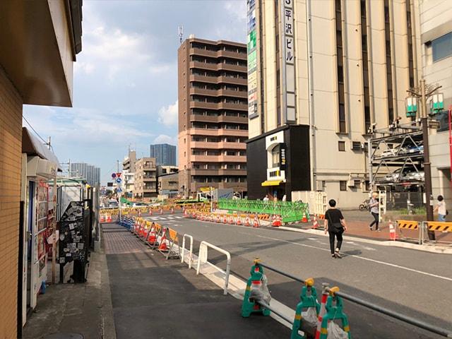 メンズ脱毛フィーゴ新宿店の行き方 西武新宿駅からの行き方2
