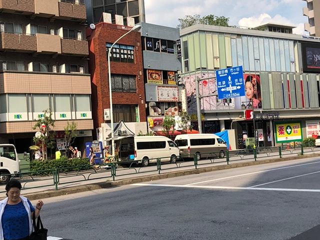 メンズ脱毛フィーゴ新宿店の行き方 西武新宿駅からの行き方4