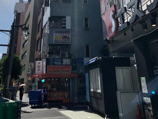メンズ脱毛フィーゴ新宿店の行き方 西武新宿駅からの行き方5