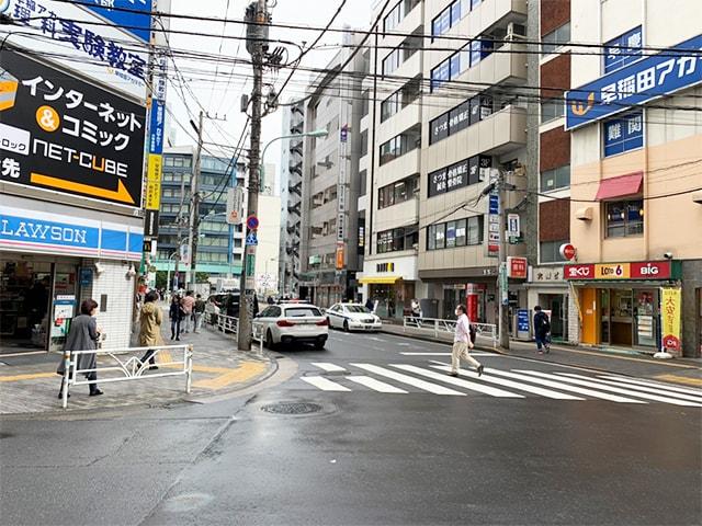 メンズ脱毛フィーゴ渋谷店への道順2
