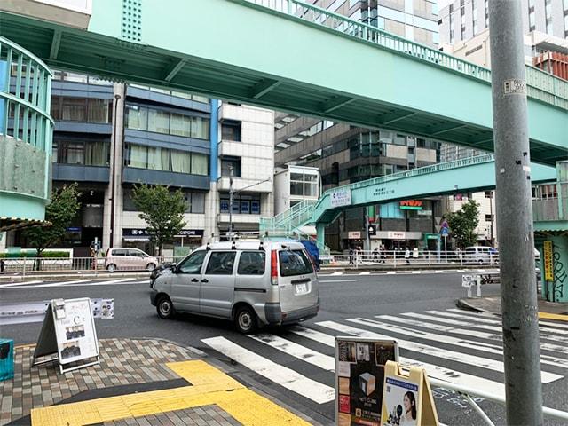 メンズ脱毛フィーゴ渋谷店への道順3
