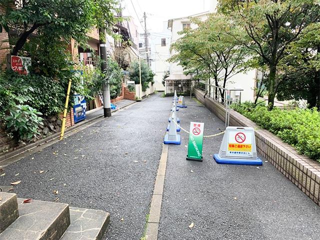 メンズ脱毛フィーゴ渋谷店への道順9