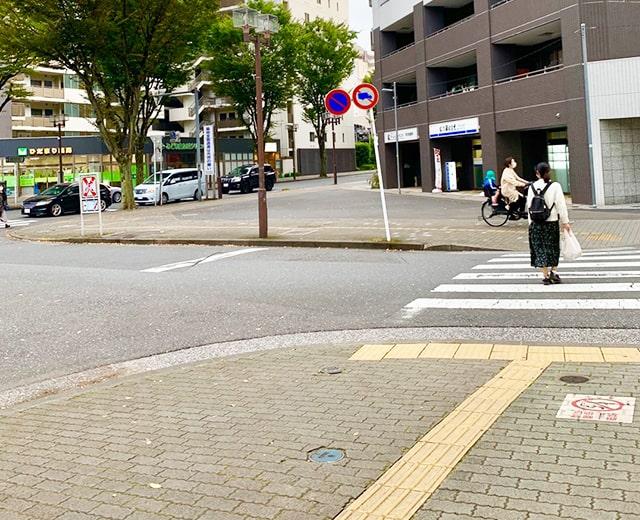 メンズ脱毛フィーゴ所沢店への道順3