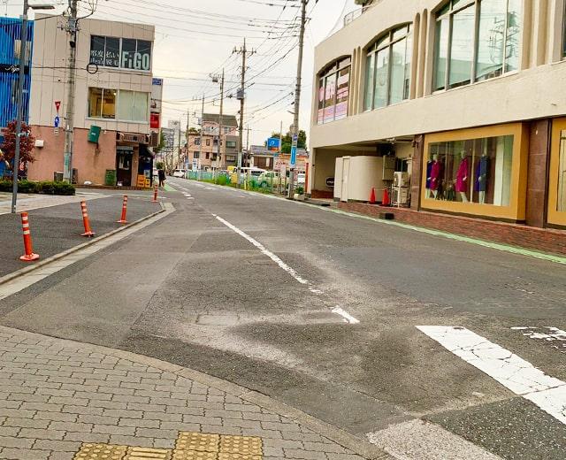 メンズ脱毛フィーゴ所沢店への道順4